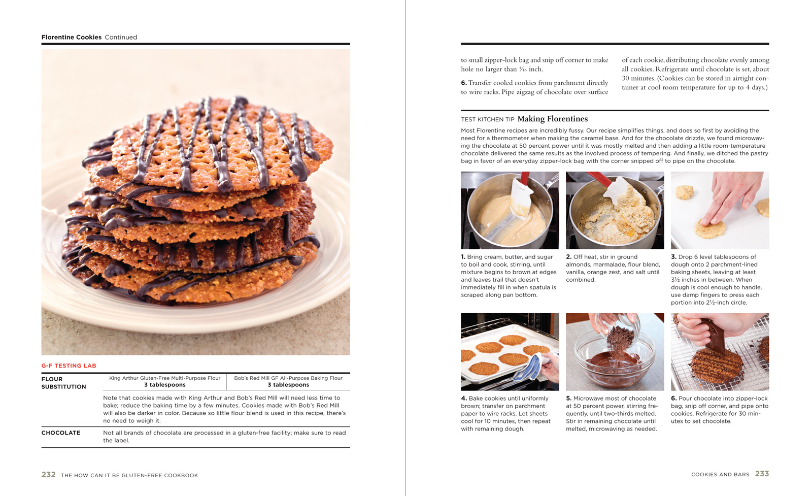 Inside Volume 1 – The How Can It Be Gluten Free Cookbook