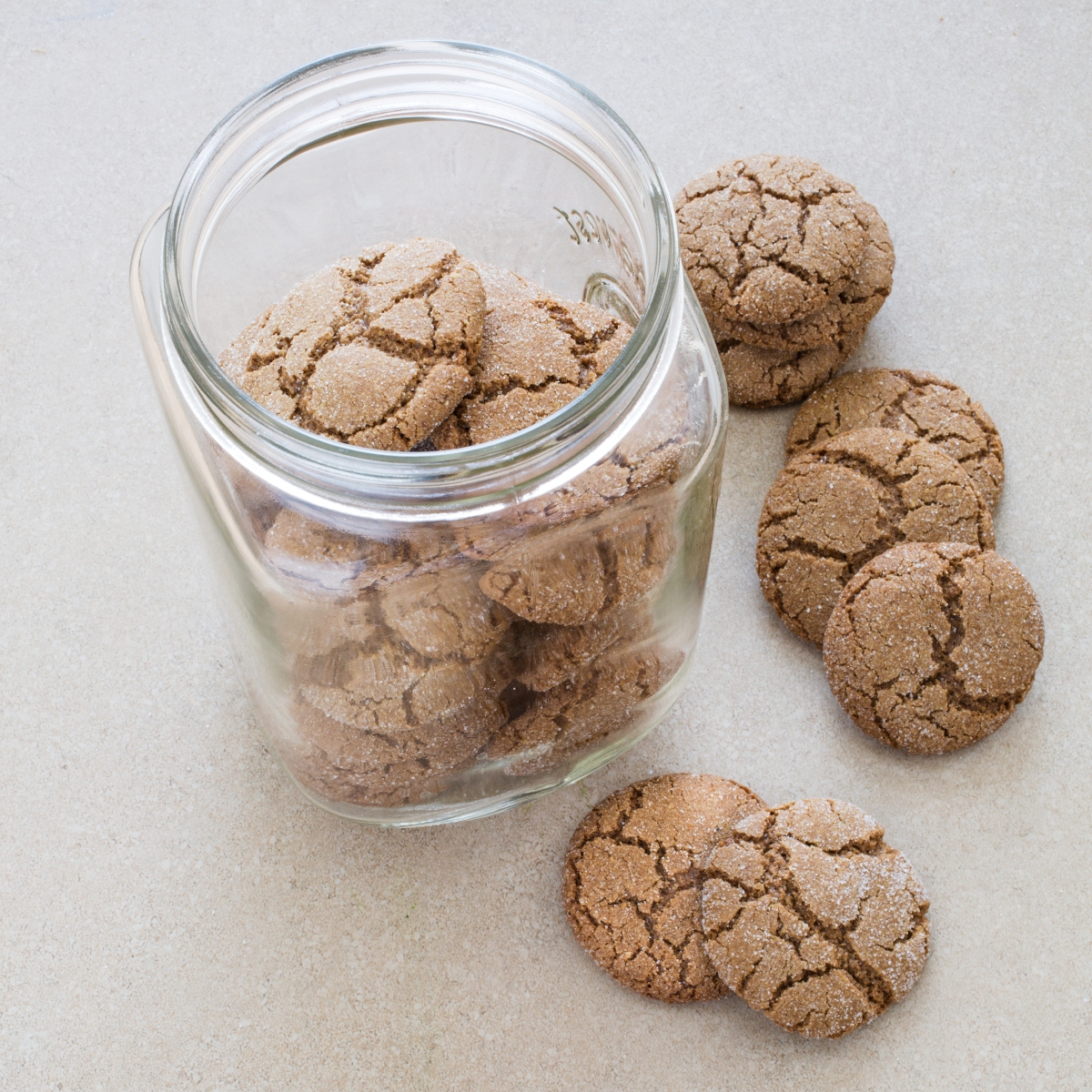 Gluten-Free Whole-Grain Gingersnaps